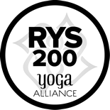 Yoga Alliance Registered 200-Hour Yoga School logo.