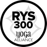Yoga Alliance Registered 300-Hour Yoga School logo.